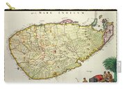 Antique Map Of Ceylon Carry-all Pouch by Nicolas Visscher