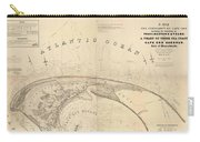 Antique Maps - Old Cartographic Maps - Antique Map Of Cape Cod, Massachusetts, 1836 Carry-all Pouch