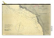Antique Maps - Old Cartographic Maps - Antique Map Of Lompoc Landing, California, 1888 Carry-all Pouch