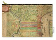 Antique Maps - Old Cartographic Maps - Antique Map Of Philadelphia, Pennsylvania, 1802 Carry-all Pouch