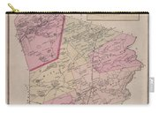 Antique Maps - Old Cartographic Maps - Antique Map Of Sudbury, Canada, 1875 Carry-all Pouch