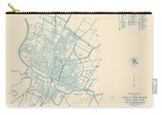 Antique Maps - Old Cartographic Maps - Antique Map Of Travis County, Texas, 1936 Carry-all Pouch