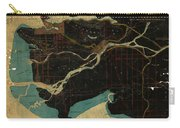 Antique Maps - Old Cartographic Maps - Antique Map Of Vancouver, New Westminster, Steveston Carry-all Pouch