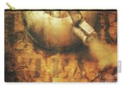 Antique Old Tea Metal Sign. Rusted Drinks Artwork Carry-all Pouch