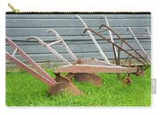 Antique Plows Carry-all Pouch