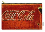 Antique Soda Cooler 3 Carry-all Pouch