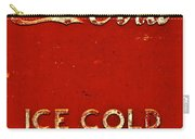 Antique Soda Cooler 6 Carry-all Pouch