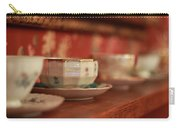 Antique Teacups Carry-all Pouch