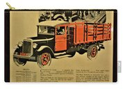 Antique Truck Poster Carry-all Pouch