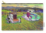Antique Vehicles Carry-all Pouch
