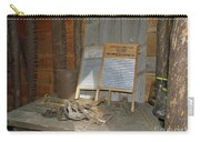 Antique Wash Boards Carry-all Pouch