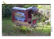 Antique Wine Wagon Carry-all Pouch