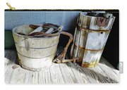Antique Wooden Buckets Carry-all Pouch