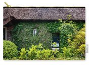Antique Yard And Green Facade,  Dutch House Carry-all Pouch
