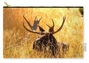 Antlers In The Golden Grass Carry-all Pouch