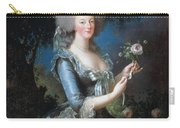 Antoinette With The Rose Marie Carry-all Pouch