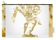 Antonio Brown Pittsburgh Steelers Water Color Art 4 Carry-all Pouch