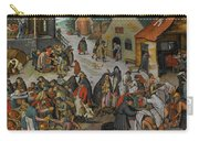 Antwerp The Seven Acts Of Mercy Carry-all Pouch