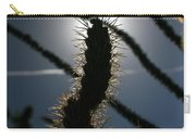 Anza Borrego Cholla Sillouette Carry-all Pouch