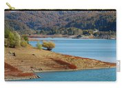Aoos Lake Shore In Epirus, Greece Carry-all Pouch