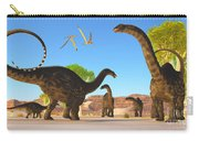 Apatosaurus Forest Carry-all Pouch