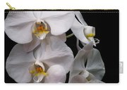 Aphrodite - White Orchid Carry-all Pouch