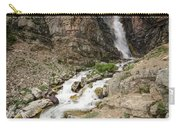 Apikuni Falls Carry-all Pouch by Margaret Pitcher