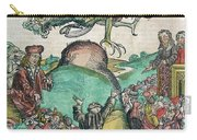 Apocalypse, Nuremberg Chronicle, 1493 Carry-all Pouch