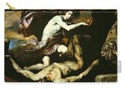 Apollo And Marsyas Carry-all Pouch