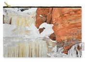 Apostle Islands National Lakeshore Waterfall Portrait Carry-all Pouch