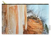 Apostle Islands Waterfall Portrait Carry-all Pouch