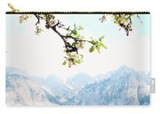 Apple Blossoms And Mountains Carry-all Pouch