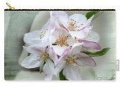 Apple Blossoms From My Hepburn Garden Carry-all Pouch