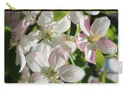Apple Blossoms Square Carry-all Pouch