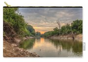 Apple Creek At Dusk Carry-all Pouch