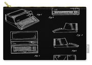 Apple Macintosh Patent 1983 Black Carry-all Pouch