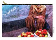 Apple Seller Carry-all Pouch