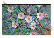 Apple Tree Blossom Carry-all Pouch