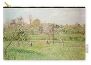 Apple Trees At Gragny Carry-all Pouch by Camille Pissarro