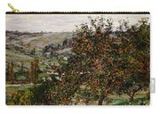 Apple Trees Near Vetheuil Carry-all Pouch by Claude Monet
