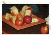 Apples And Bread Carry-all Pouch by Susan Savad