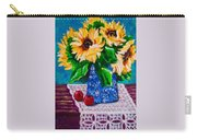 Apples  Sunflowers Carry-all Pouch