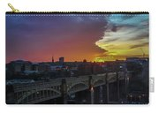 Approaching Storm At Sunset Carry-all Pouch