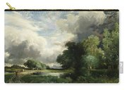 Approaching Storm Clouds Carry-all Pouch by Thomas Moran