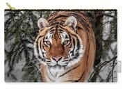 Approaching Tiger Carry-all Pouch