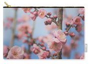 Apricot Blossom Carry-all Pouch