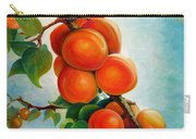 Apricots In The Garden Carry-all Pouch