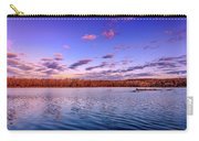 April Evening At The Lake Carry-all Pouch