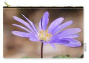 April Grecian Wind Flower  Carry-all Pouch