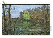 April Willow On Milwaukee River Carry-all Pouch